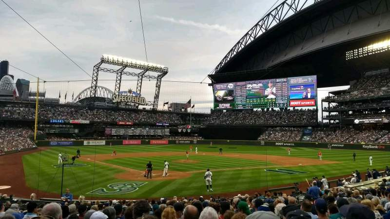 Seating view for Safeco Field Section 128 Row 22 Seat 4