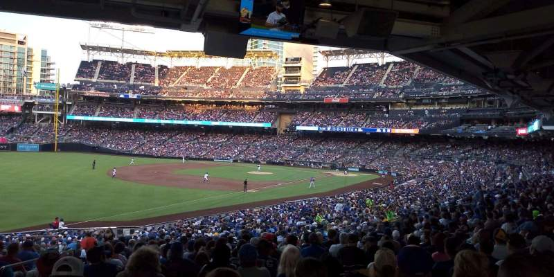 Seating view for PETCO Park Section 120 Row ,42 Seat 22
