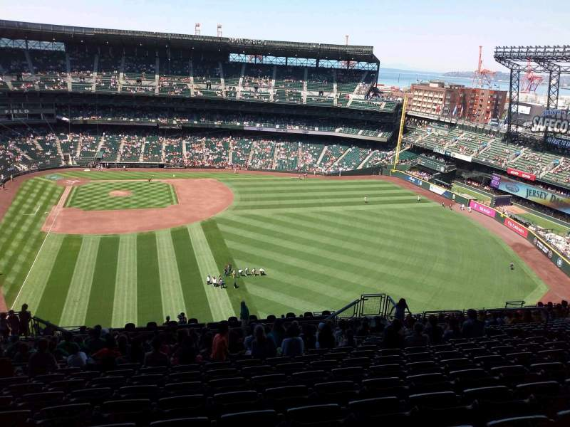 Seating view for T-Mobile Park Section 308 Row 25  Seat 12