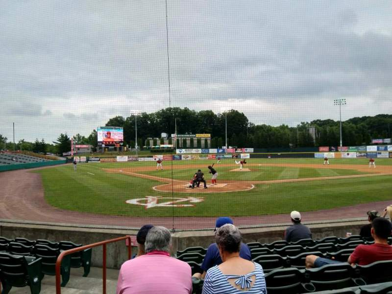 Seating view for Joseph L. Bruno Stadium Section 120 Row h Seat 2