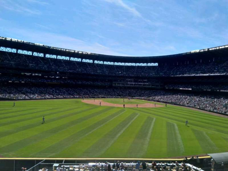 Seating view for T-Mobile Park Section 187 Row 1