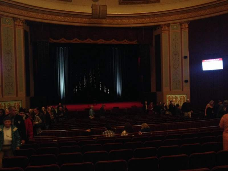 Seating view for Strand-Capitol Performing Arts Center Section orchestra center Row X Seat 115