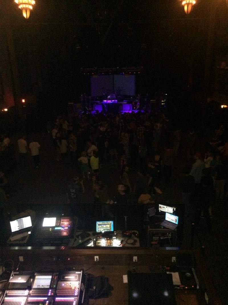 Seating view for Union transfer Section Balcony