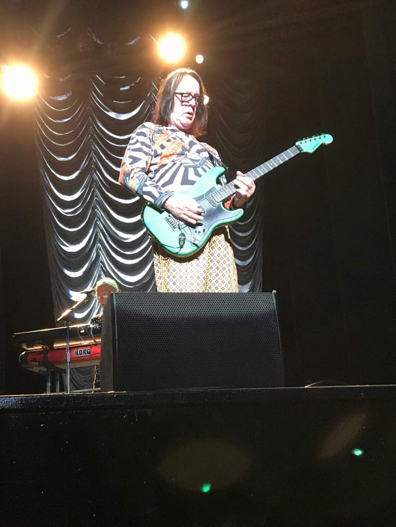 The Wiltern Section Pit Row Aaa Seat 118 Todd Rundgren Tour