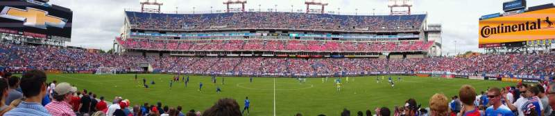 Seating view for Nissan Stadium Section 135 Row K Seat 13