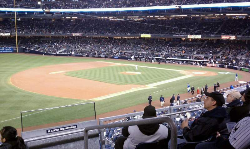 Seating view for Yankee Stadium Section 228 Row 5 Seat 2