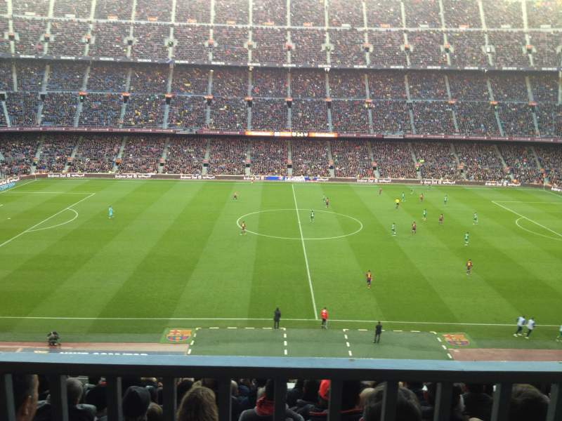 Seating view for Camp Nou Section 305 Row 19 Seat 2