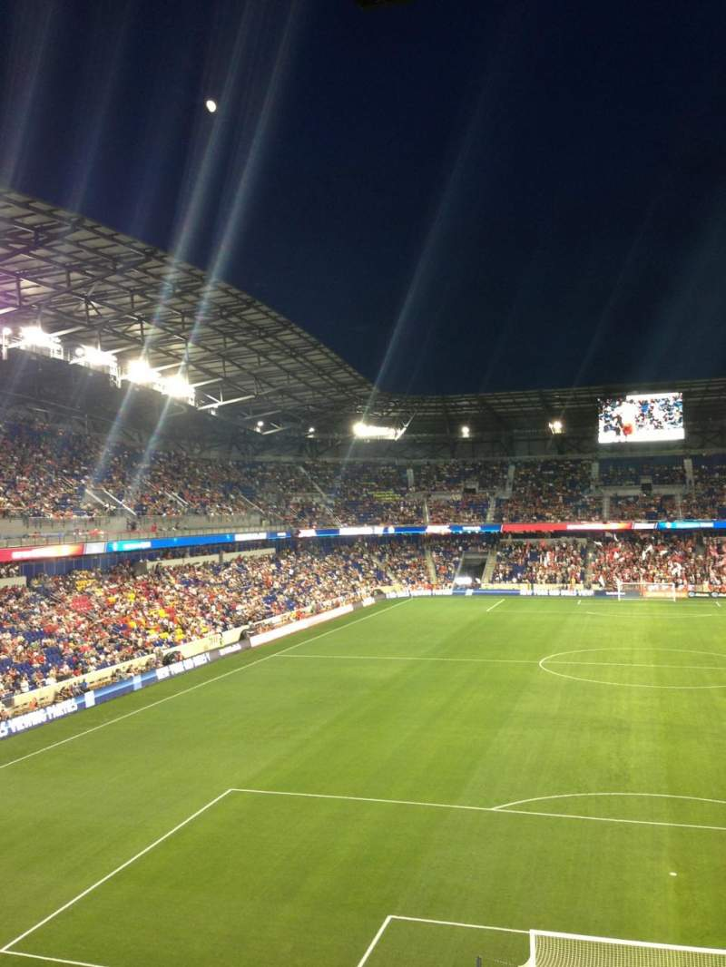 Red Bull Arena Section 218 Row 4 Seat 13 New York Red