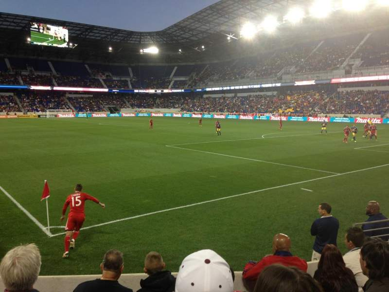 Seating view for Red Bull Arena Section 104 Row 5 Seat 6