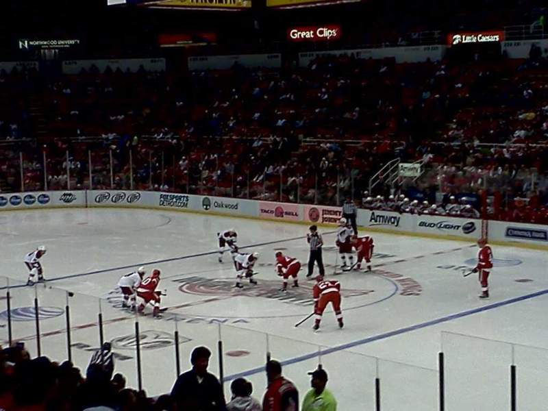 Seating view for Joe Louis Arena Section standing room
