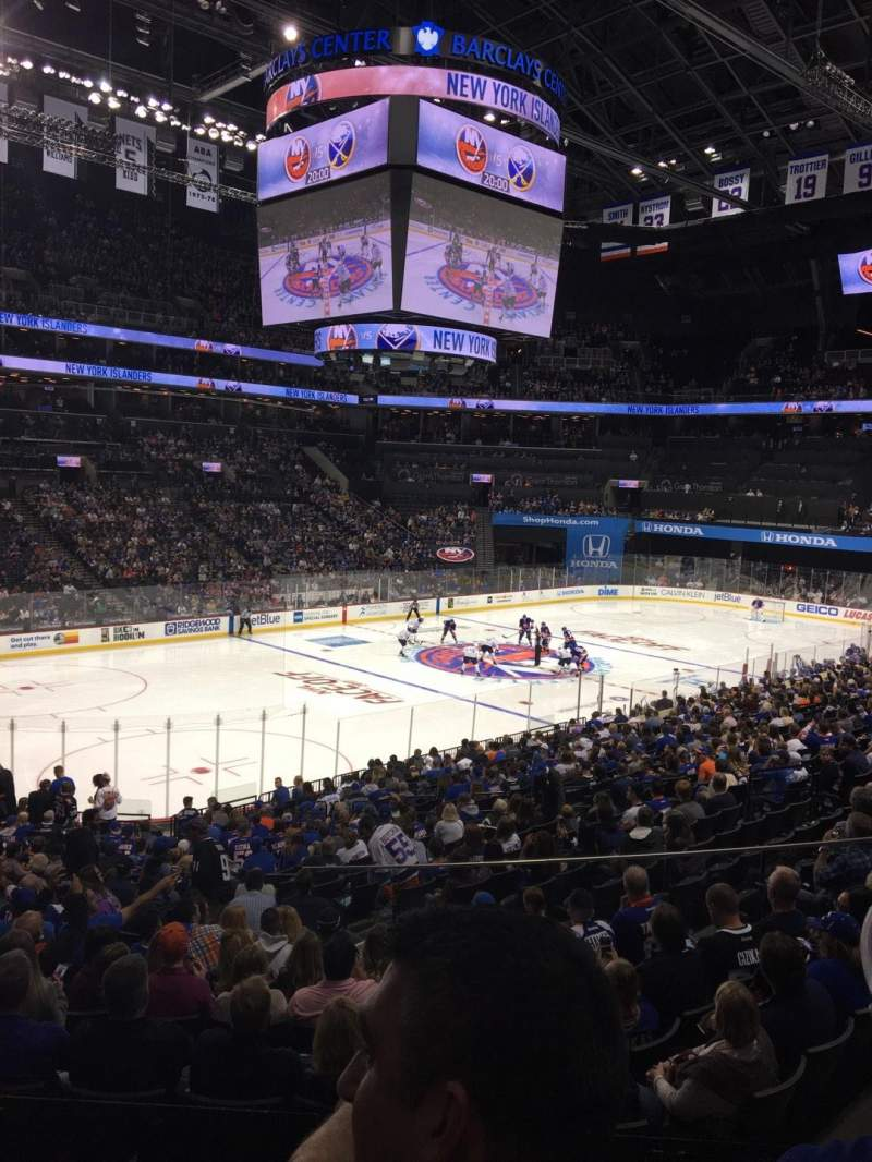 Seating view for Barclays Center Section 111 Row 5 Seat 14