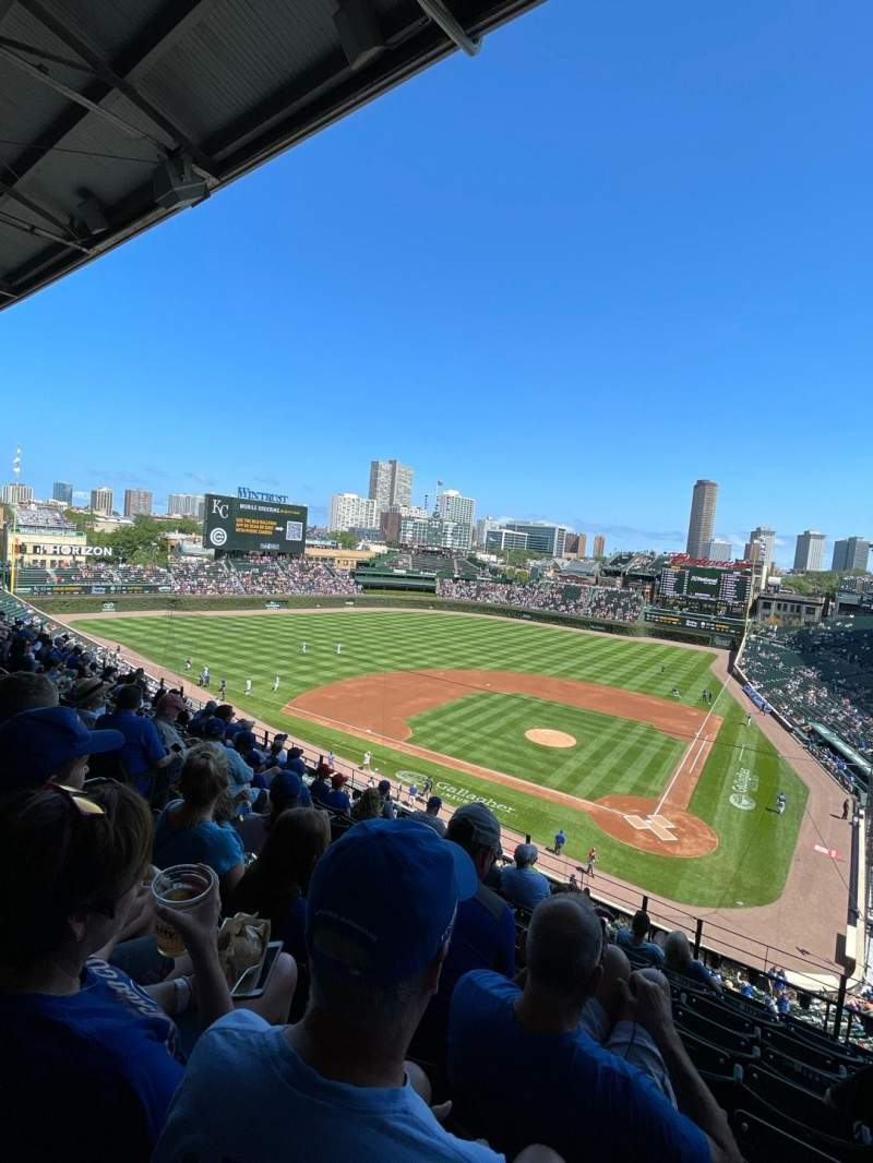 Seating view for Wrigley Field Section 314L Row 9 Seat 9