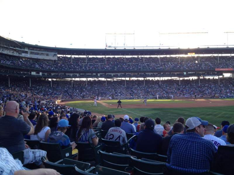 Seating view for Wrigley Field Section 139 Row 5 Seat 5