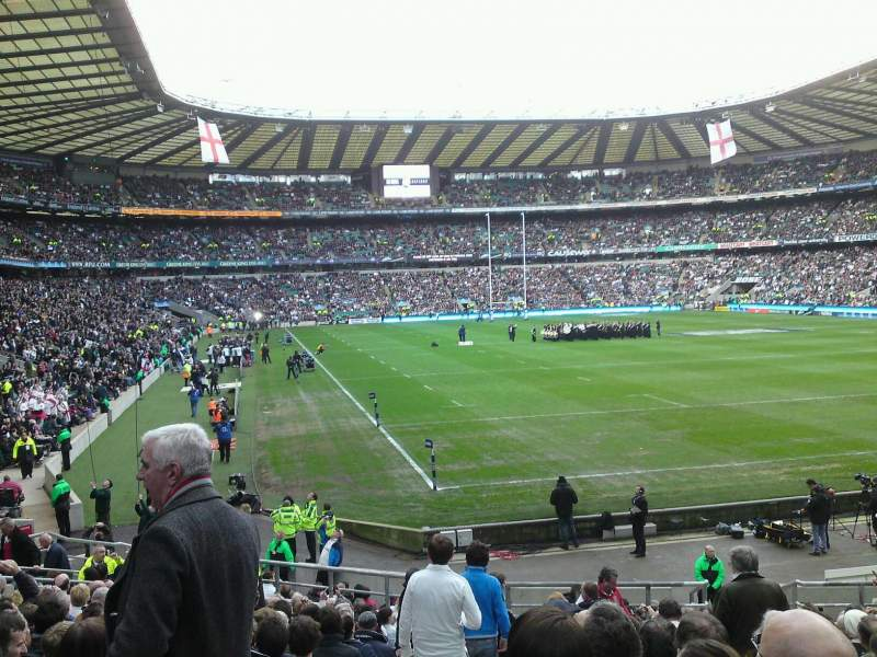 Seating view for Twickenham Stadium