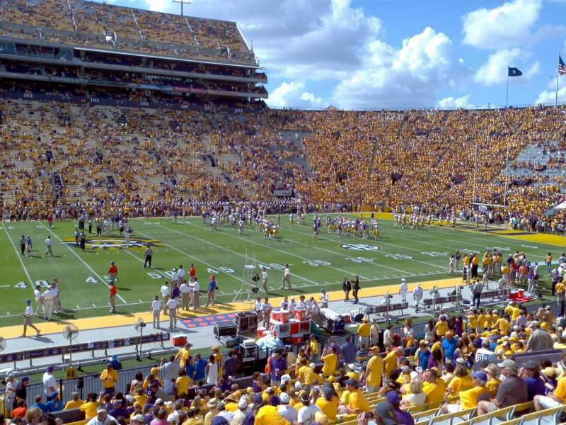 Seating view for Tiger Stadium Section 304