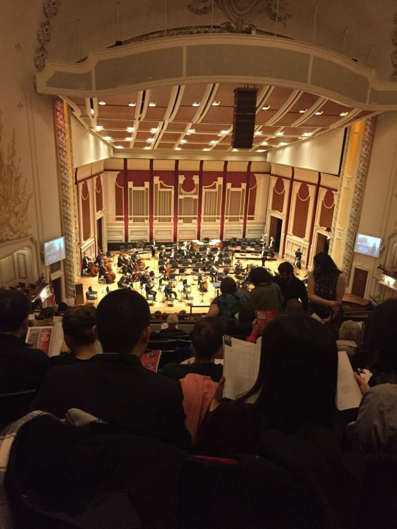 Seating view for Heinz Hall Section Family Circle LC Row K Seat 109