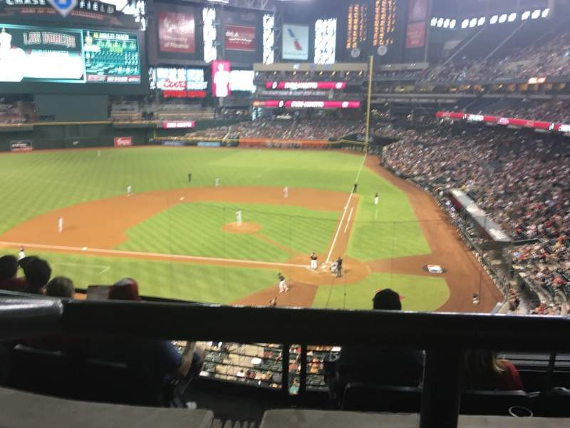 Seating view for Chase Field Section Suite 41 Row 1 Seat 6
