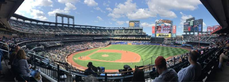 Seating view for Citi Field Section 311 Row 5 Seat 8