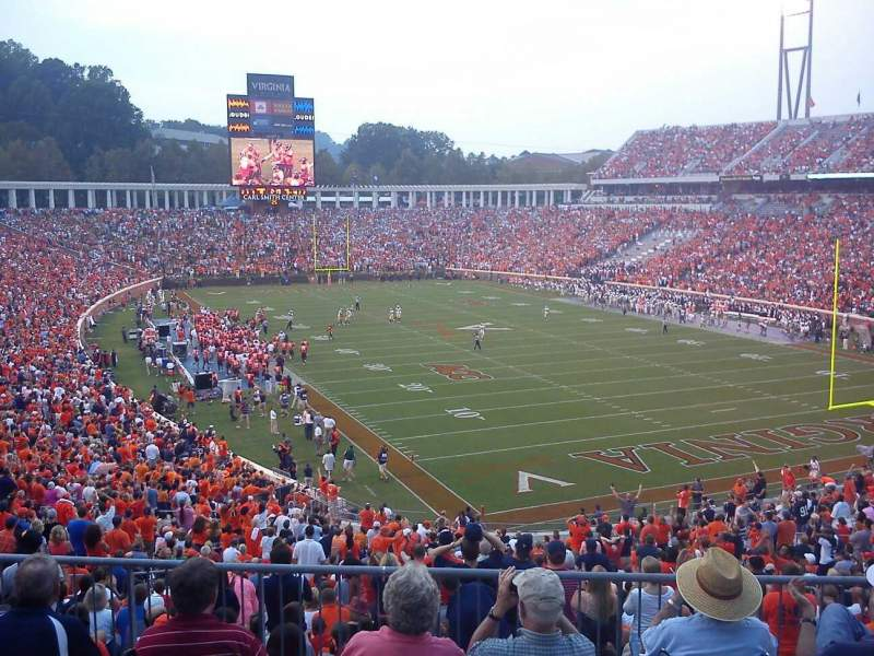 Seating view for Scott Stadium Section 119 Row a Seat 23