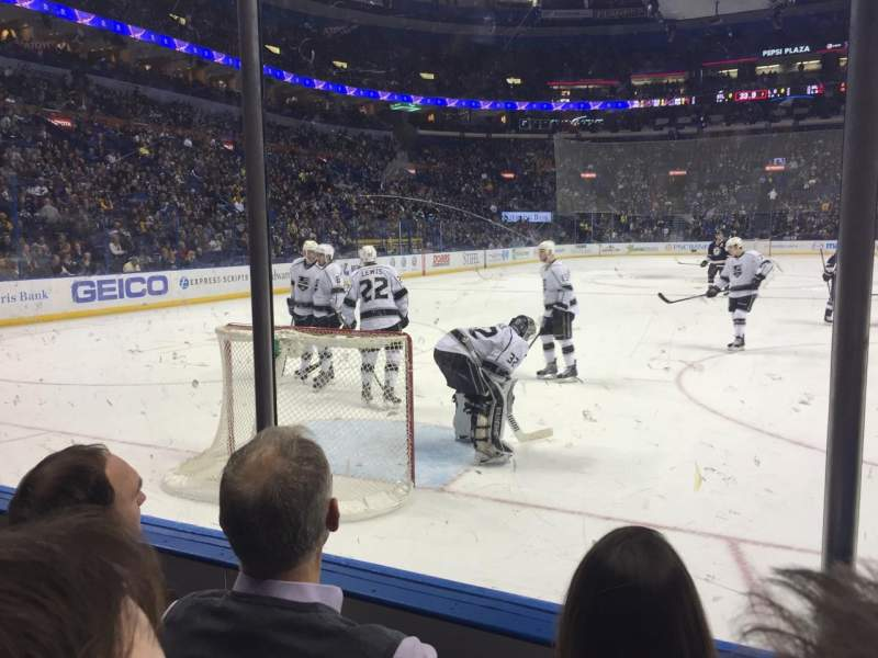 Seating view for Scottrade Center Section 109 Row C Seat 4