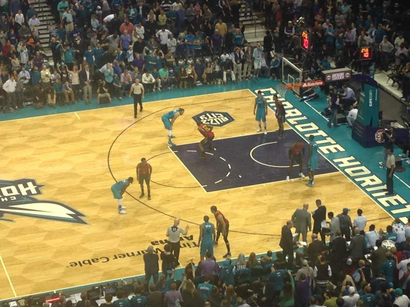 Seating view for Spectrum Center Section 209 Row B Seat 7