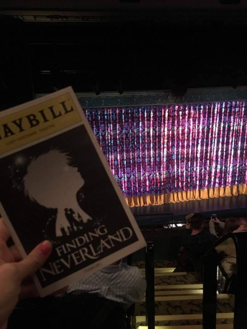 Seating view for Lunt-Fontanne Theatre Section Front Mezzanine L Row E Seat 1