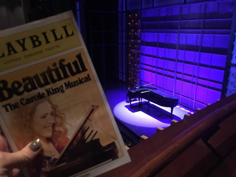 Seating view for Stephen Sondheim Theatre Section Right Box Seat 4
