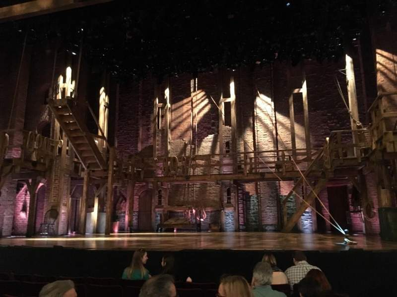 Seating view for Richard Rodgers Theatre Section Orchestra Row G Seat 101