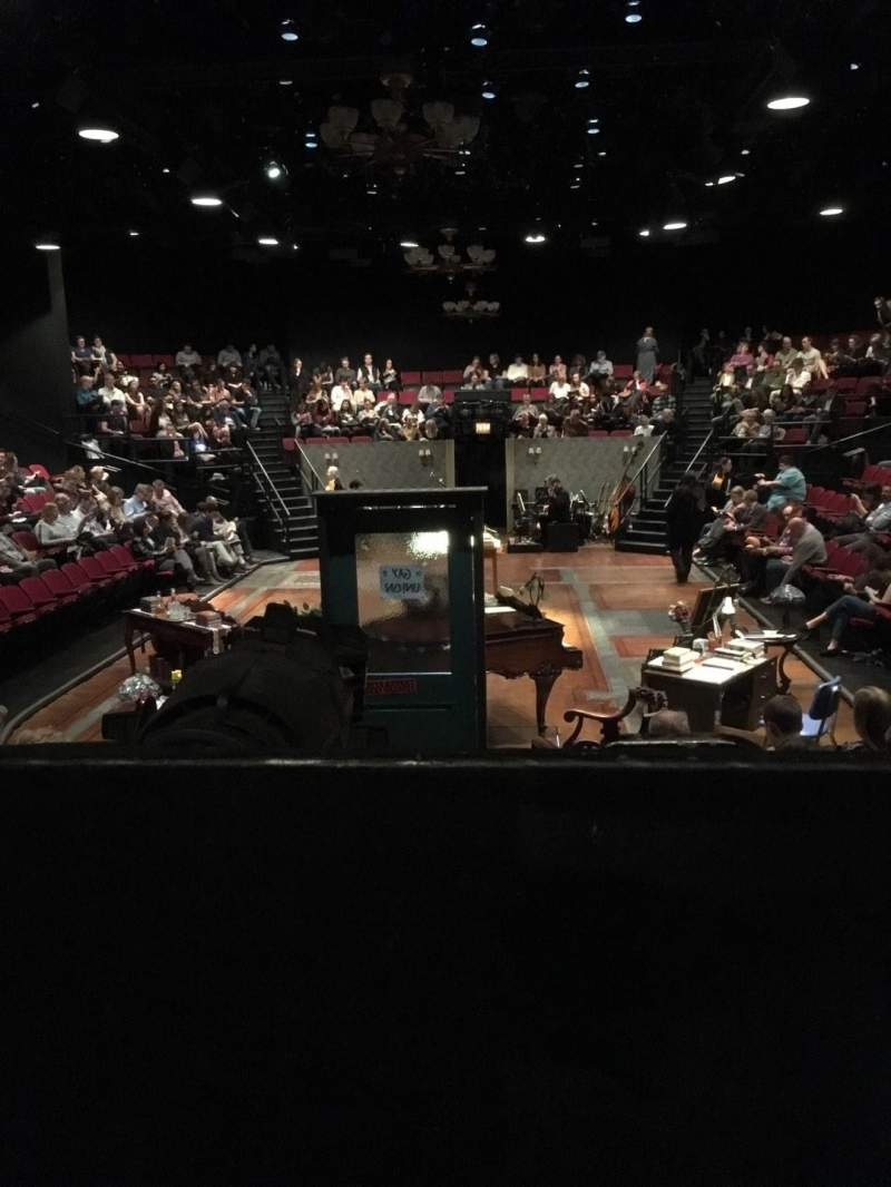 Seating view for Circle in the Square Theatre Section Orchestra 100 (Even) Row F Seat 104