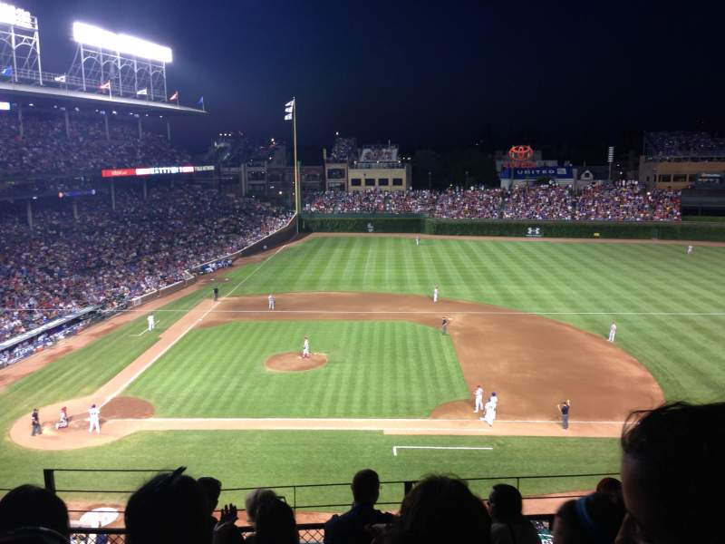 Seating view for Wrigley Field Section 324R Row 6 Seat 3