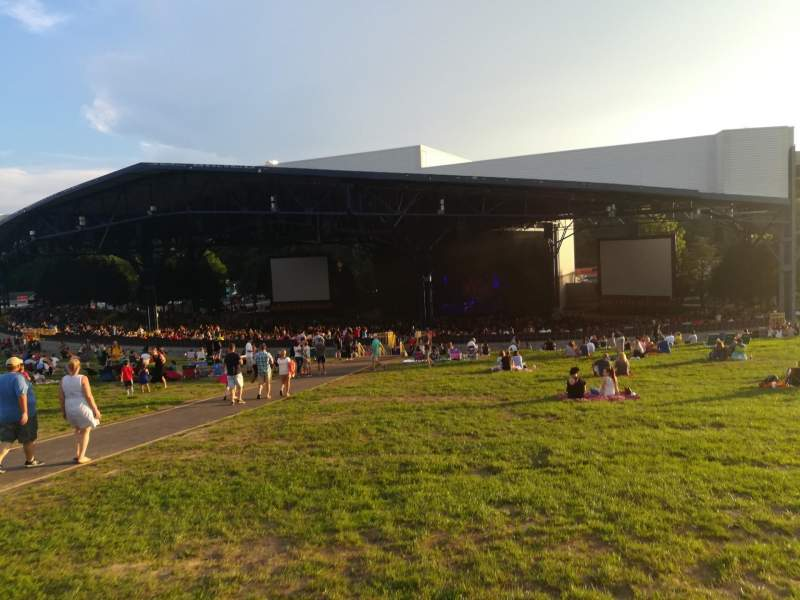 Seating view for Jiffy Lube Live Section LAWN Row LAWN Seat LAWN