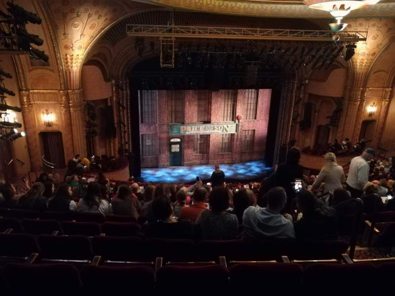Seating view for Al Hirschfeld Theatre Section MEZZL Row S Seat 9