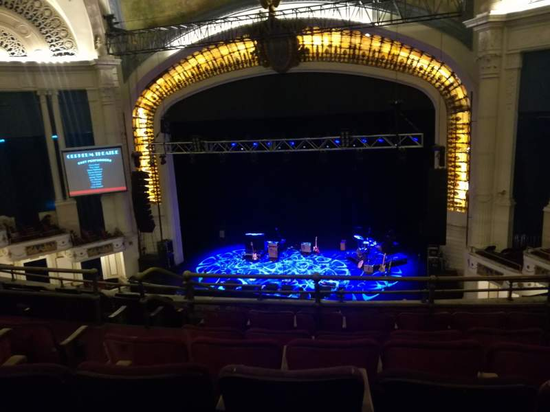 Seating view for Orpheum Theatre (Boston) Section Balcony RC Row H Seat 108