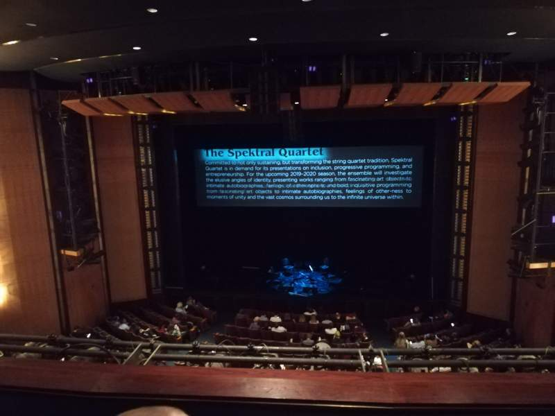 Seating view for The Kennedy Center Eisenhower Theater Section Balcony Row C Seat 103