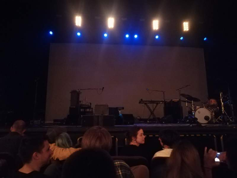 Seating view for Hippodrome Theatre Section Center Orchestra Row C Seat 104