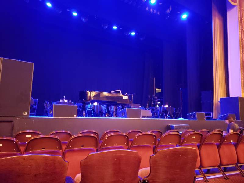 Seating view for Lincoln Theatre Section Orchestra Left A-K Row C Seat 5