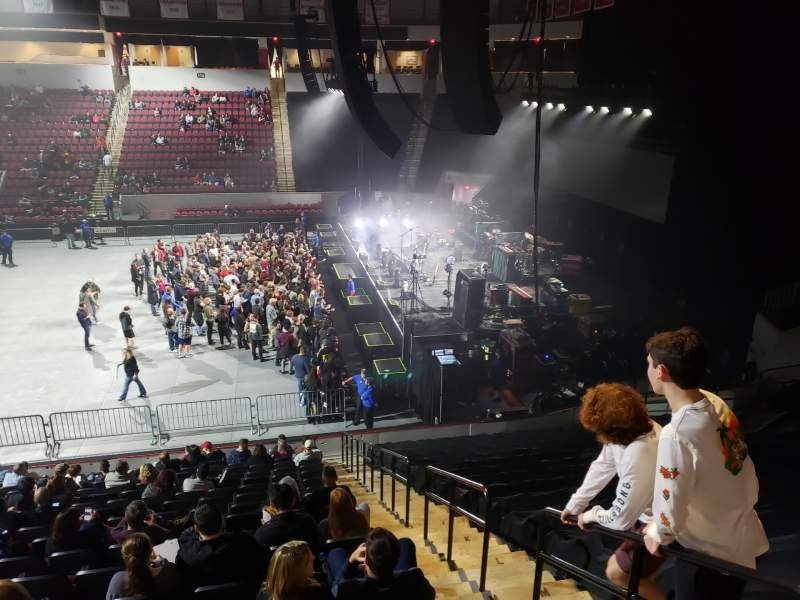 Seating view for Agganis Arena Section 102 Row Q Seat 2
