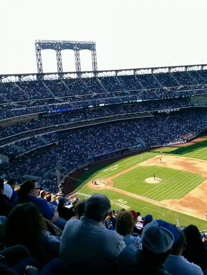 Seating view for Citi Field Section 505 Row 15 Seat 21