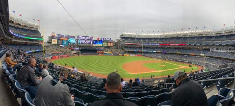 Seating view for Yankee Stadium Section 227A Row 10 Seat 5