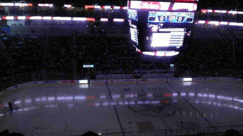 Seating view for PPG Paints Arena Section 221 Row D Seat 11