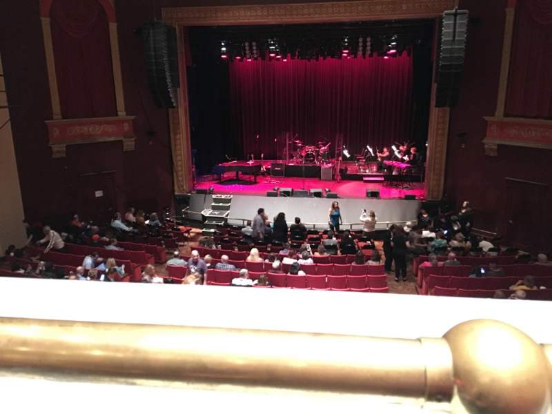 Seating view for Bergen Performing Arts Center Section CMEZZ Row A Seat 110