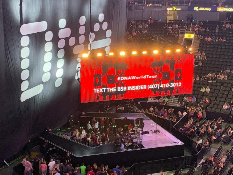 Seating view for Sprint Center Section 107 Row 25 Seat 2