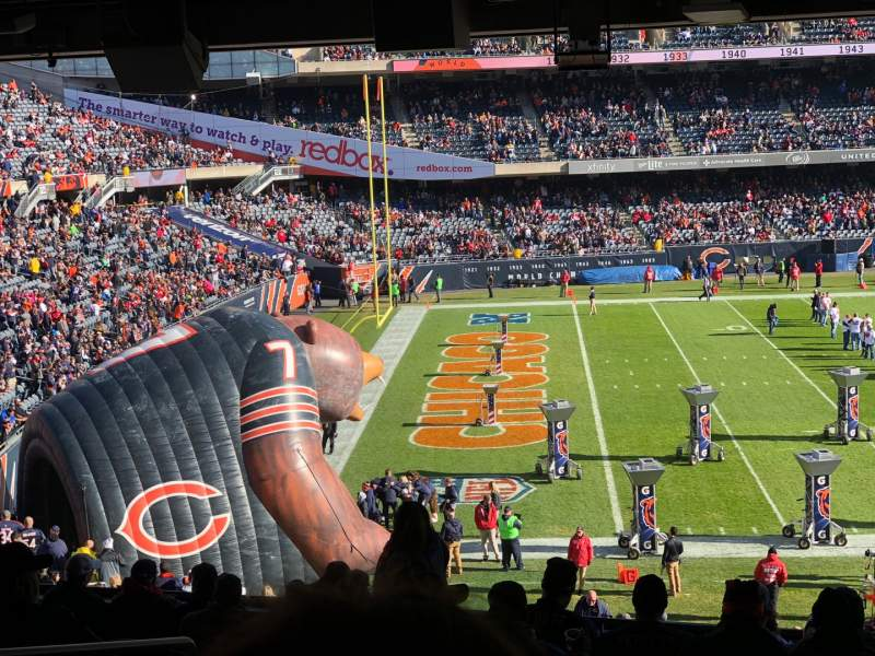 Seating view for Soldier Field Section 242 Row 12 Seat 5