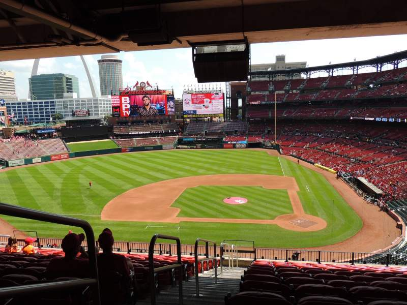 Seating view for Busch Stadium Section 254 Row 14 Seat 15