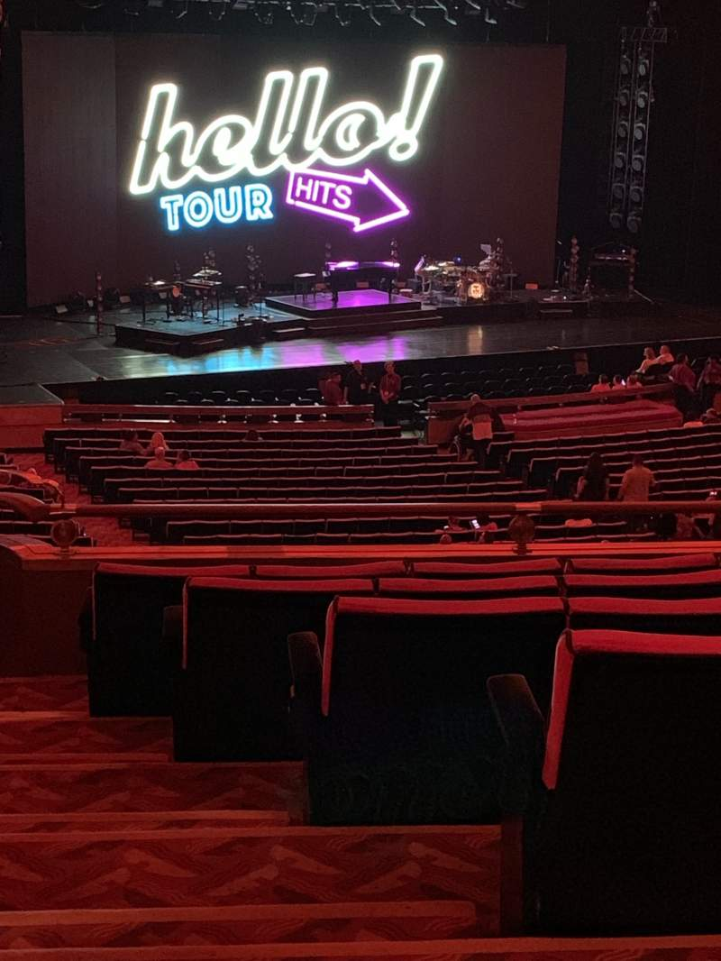 Seating view for Radio City Music Hall Section 1st Mezzanine 7 Row G Seat 701