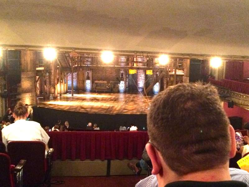 Seating view for CIBC Theatre Section Dress Circle RC Row F Seat 222