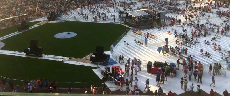 Wrigley Field, section: 431, row: 1, seat: 106