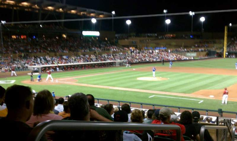 Seating view for Salt River Fields Section 205 Row 13 Seat 11