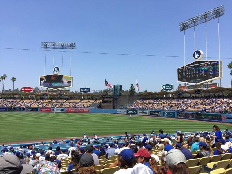 Dodger Stadium, section: 34FD, row: S, seat: 1