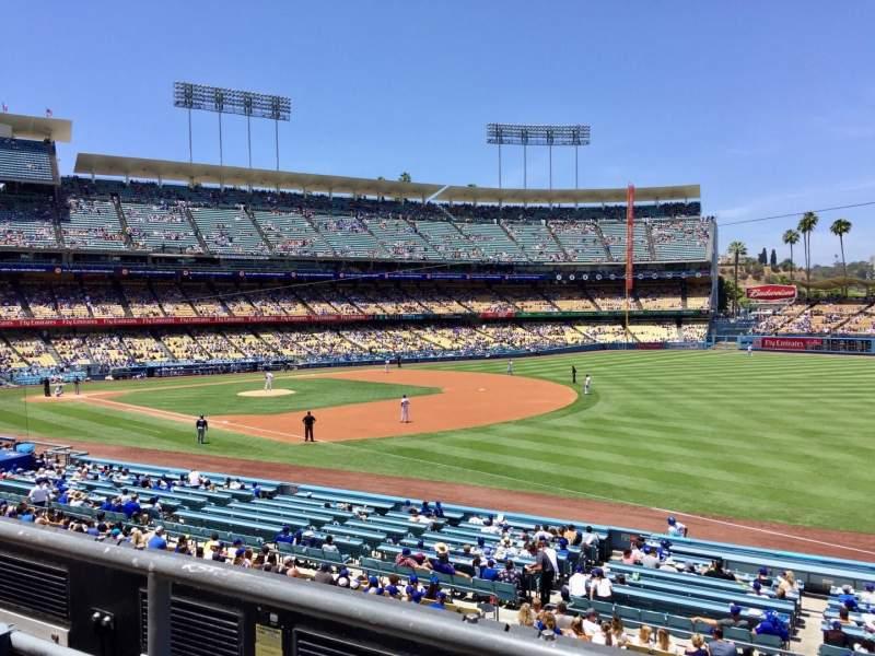 Dodger Stadium, section: 154LG, row: B, seat: 1